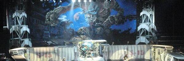 Iron Maiden Concert Feb 2011
