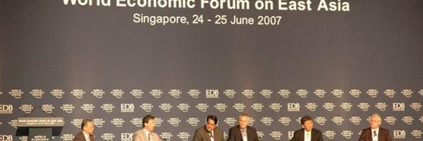 WEF in Singapore 2007